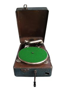 Free Retro Gramophone Or Record Player Stock Images - 17642234