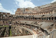 Free Inside The Roman Coliseum Royalty Free Stock Image - 17642686