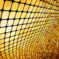 Free Golden Business Mosaic. EPS 8 Stock Photography - 17643002
