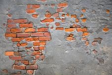 Free Brick Wall Background Stock Images - 17643114