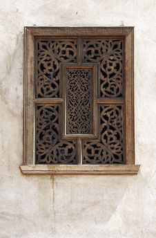 Free Carved Window Stock Image - 17643411
