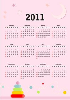 Free Calendar Royalty Free Stock Photos - 17643568
