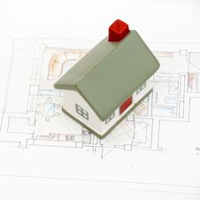 Free Miniature House Royalty Free Stock Photo - 17643945