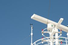 Free Cruise Ship Guidance System Royalty Free Stock Photography - 17644077