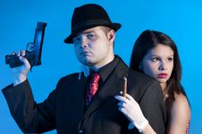 Free Bonnie And Clyde Stock Photography - 17644542