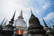 Pagoda At Wat MahaThat Temple Royalty Free Stock Image