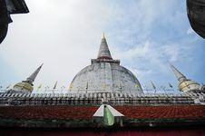 Pagoda At Wat MahaThat Temple Stock Photos