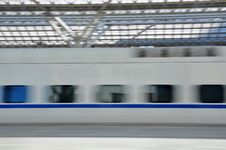 Free High-Speed Train Royalty Free Stock Image - 17645046