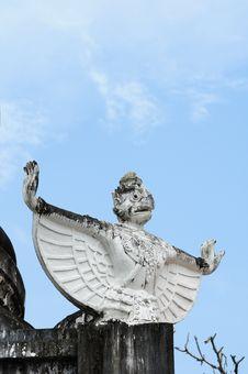 Free Garuda At Temples Royalty Free Stock Image - 17645126