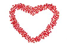 Free Pomegranate In Heart Shape Stock Photos - 17645483
