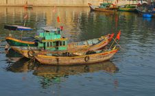 Free Vietnamese Boats Royalty Free Stock Photos - 17646258