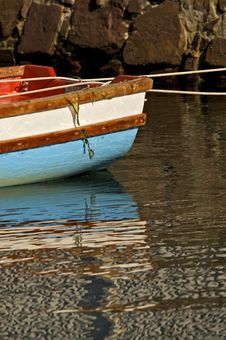 Free Boat Reflection Stock Photo - 17646470