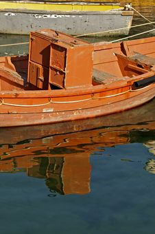 Free Boat Reflection Stock Images - 17646694