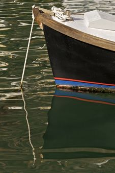 Free Boat Reflection Royalty Free Stock Photography - 17646757