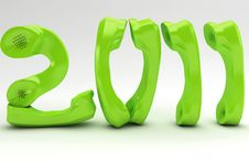Free Green New Year Stock Photography - 17647512