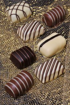 Free Chocolates Royalty Free Stock Image - 17647596