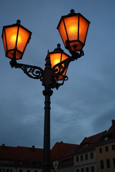 Free Street Lights Royalty Free Stock Photography - 17648277