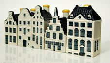 Canal Houses 2 Stock Image