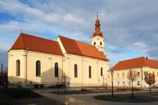 Free Church Of Saint Jakub Older Royalty Free Stock Image - 17649256