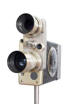 Free Retro Movie Camera 8mm 16mm Stock Image - 17649771