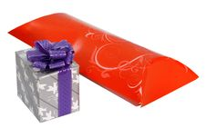 Free Boxes With Gifts For Christmas Royalty Free Stock Photography - 17649787