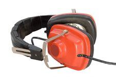 Free Red Headphones. Royalty Free Stock Photos - 17649788