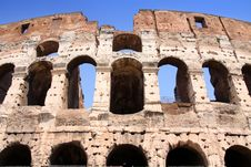 Free Colosseum Royalty Free Stock Photo - 17649935