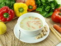Free Vegetable Soup Royalty Free Stock Images - 17650159