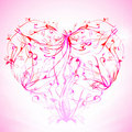 Free Floral Heart Royalty Free Stock Photos - 17654788