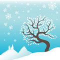 Free Winter Tree Royalty Free Stock Image - 17655486
