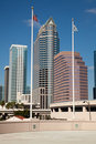 Free Downtown Tampa, Florida Stock Photography - 17657492