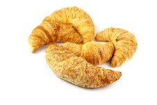 Free Heap Of Croissants Stock Image - 17650071