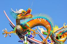 Free A Chinese Dragon Royalty Free Stock Photo - 17650595