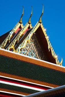 Free Detail Of Ornately Decorated Temple Roo Stock Image - 17651211