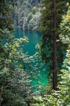 Free Emerald Green Konigssee Stock Photos - 17651413