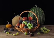 Free Fruits And Melons Royalty Free Stock Photo - 17651625