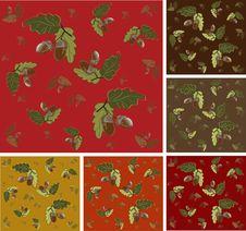 Free Autumn Seamless Background. Royalty Free Stock Photos - 17651628