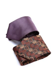 Executive Silk Ties Royalty Free Stock Photo
