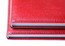 Free Two Red Books Stock Photography - 17651952