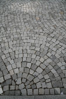 Free Image Composed Of Blocks Of Paving The Way Stock Photos - 17652013