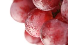 Free Grapes Close Royalty Free Stock Photos - 17652208