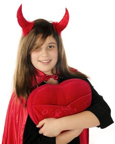 Free Devil Heart-Thief Stock Images - 17653204
