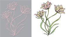 Free Beautiful Tulips Stock Photography - 17653372