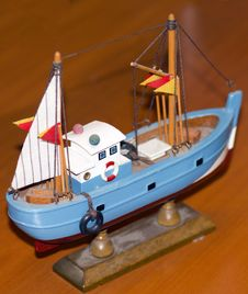 Model Ship Detail Royalty Free Stock Images