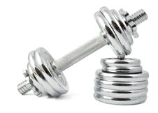 Free Dumbbells Stock Photography - 17653492