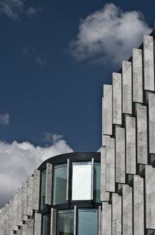 Facade Of A Modern Building Royalty Free Stock Photo