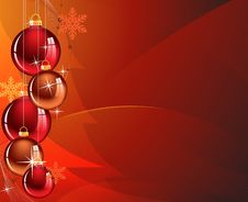 Free Abstract Christmas Background Royalty Free Stock Photo - 17653595