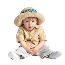 Free Funny Boy In Hat Royalty Free Stock Photography - 17653827