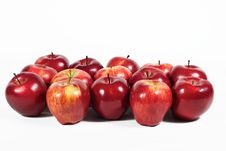 Free Red Apples Royalty Free Stock Photos - 17653948