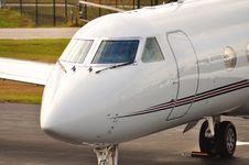 Gul-stream Jet Royalty Free Stock Photo